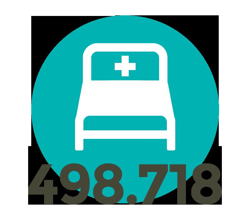 Immer weniger Krankenhausbetten: 2016 nur noch 498.718 aufgestellte Betten in Deutschland