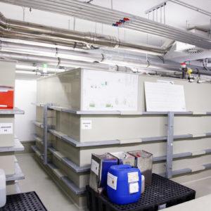 Die Sonderisolierstation verfügt über eine eigene thermische Abwasseranlage. (Foto: Abfallmanager Medizin)