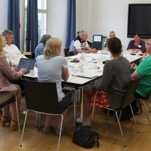 """In den Tagungsräumen der """"Alten Mensa"""" trafen sich Abfallbeauftragte aus ganz Deutschland (Foto: Abfallmanager Medizin)"""