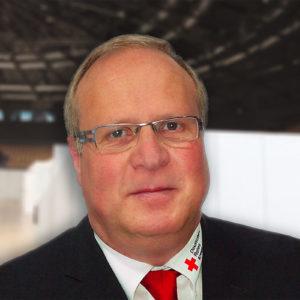 Ralf Gräser ist Landesbereitschaftsleiter des DRK Sachsen und hat zusammen mit einem engagierten Team das Impfzentrum in Zwickau eingerichtet (Foto: privat)