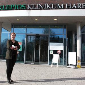 Anne Friederike Dehn liegt das Thema Nachhaltigkeit am Herzen (Foto: Abfallmanager Medizin)