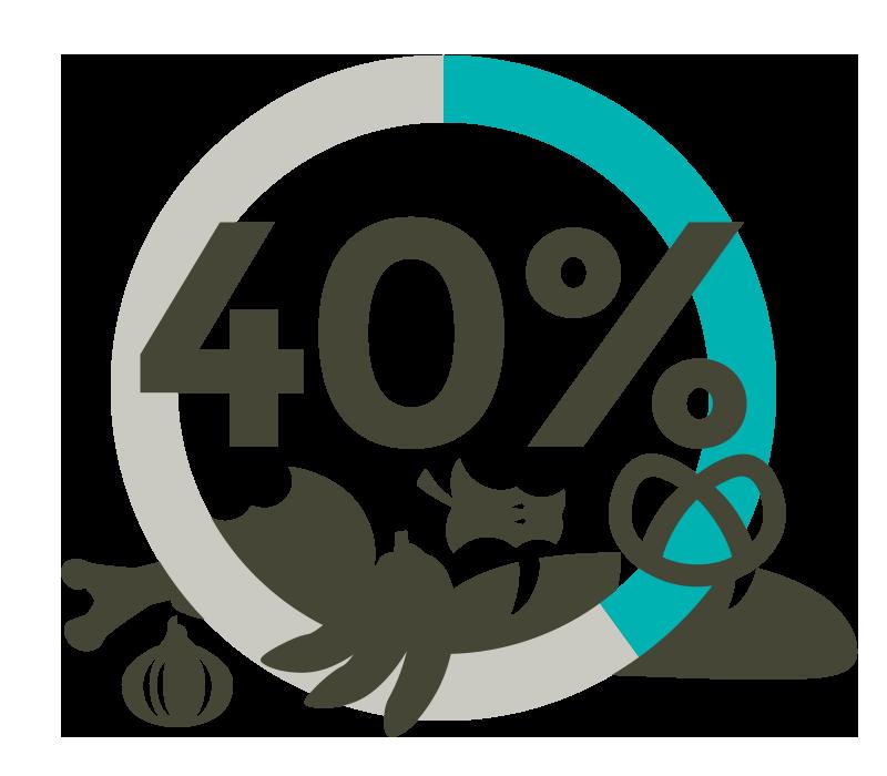 40 Prozent Bioabfälle in der Restmülltonne